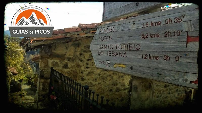 Etapa final del Camino Lebaniego desde Cabañes