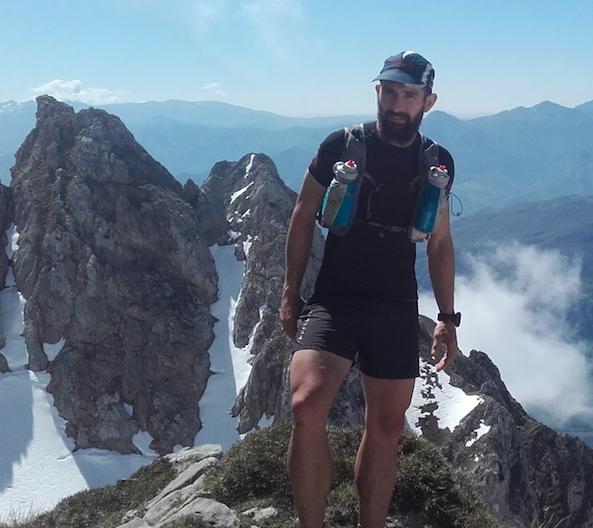 Sergio Besoy. Trail running Guide en Picos de Europa. Guía de montaña