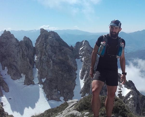 Sergio Besoy en Anillo de Picos de Europa