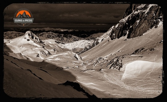 Rutas guiadas con raquetas de nieve en Picos de Europa