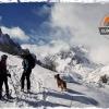 Actividad de esquí de montaña en Picos de Europa