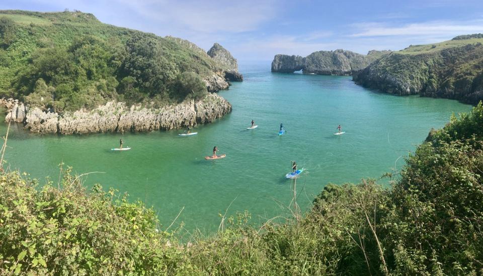 Stand Up Paddle por la costa de Cantabria y Asturias