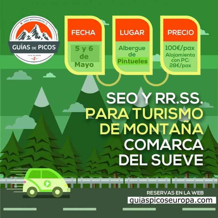 Cartel SEO y RR.SS. para profesionales del turismo