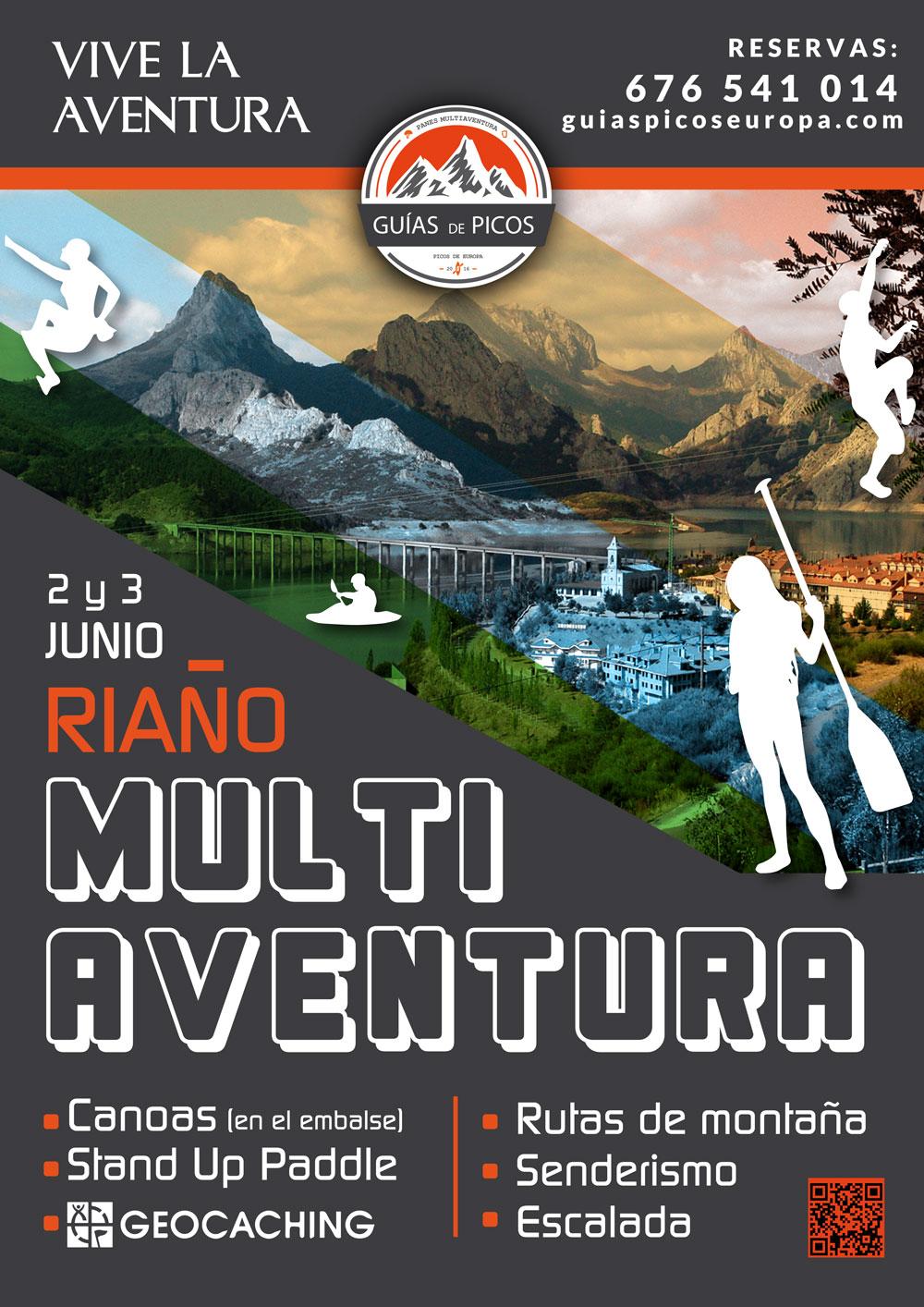 Fin de semana Multiaventura en Riaño, León