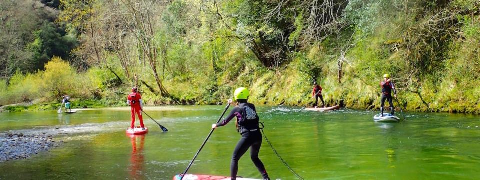 SUP river en Cares y Deva