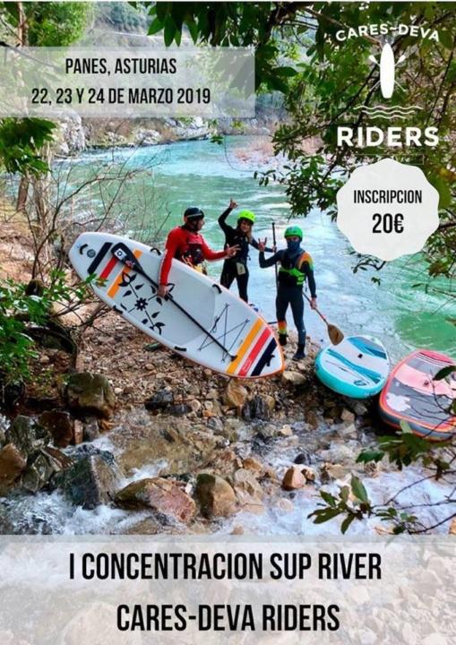I Concentración SUP river Cares Deva Riders