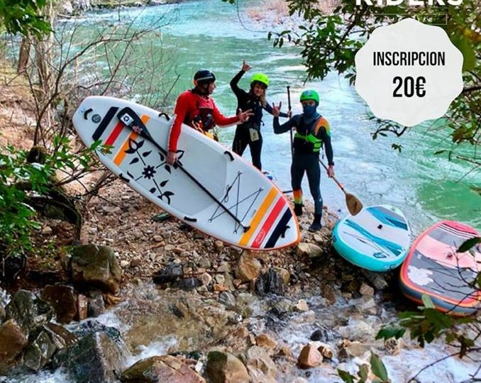 I Concentración SUP river Cares Deva Riders