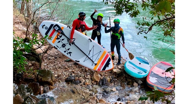 SUP river Cares Deva riders