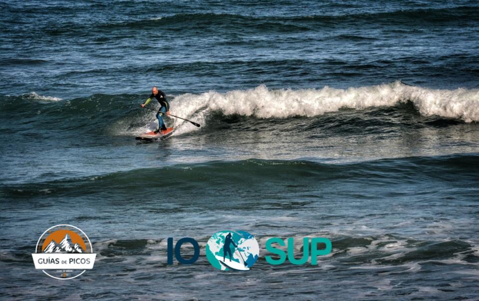 SUP waves en playa de Oyambre
